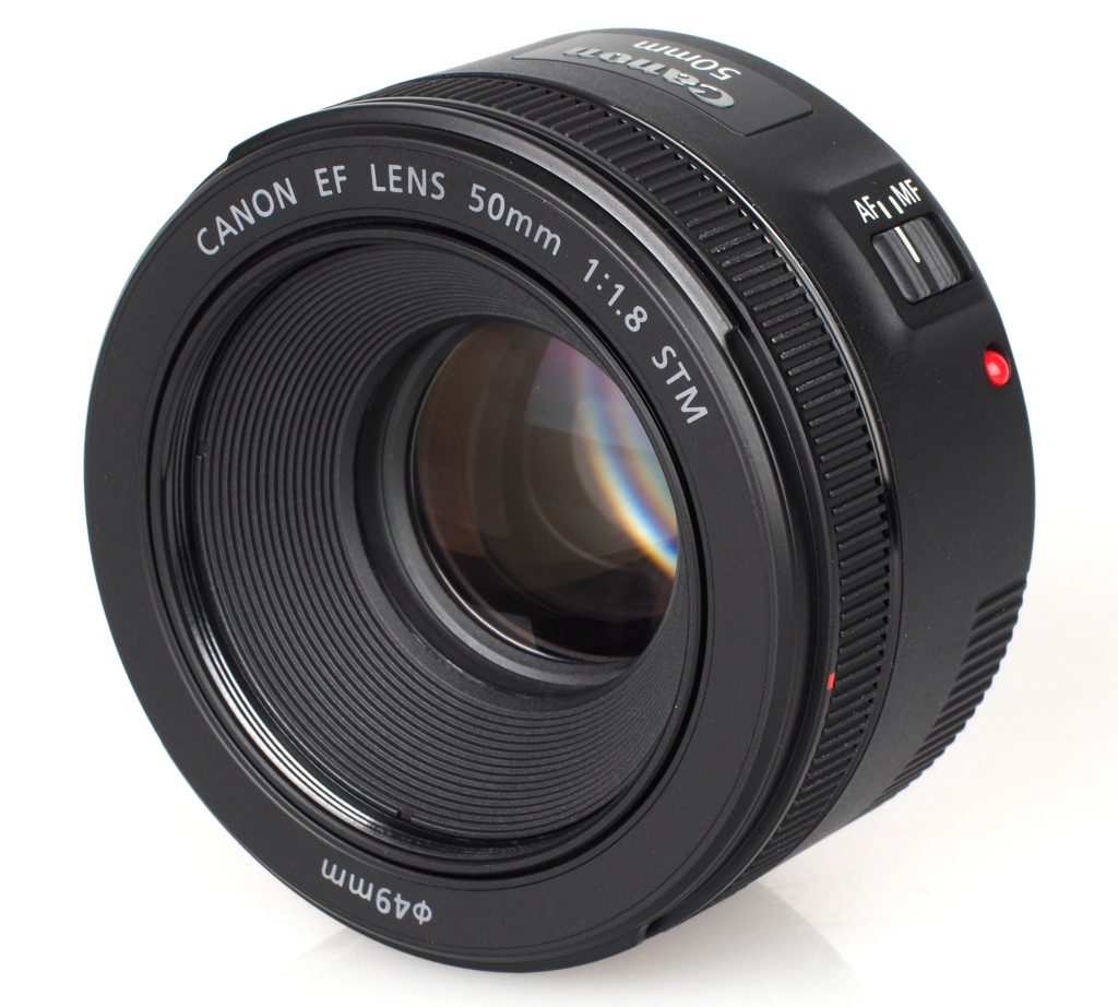 50mm f1.8 CANON objectif focale fixe