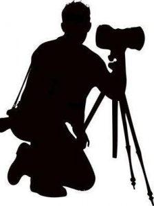 trepied photographe ombre apprendre l'instant présent
