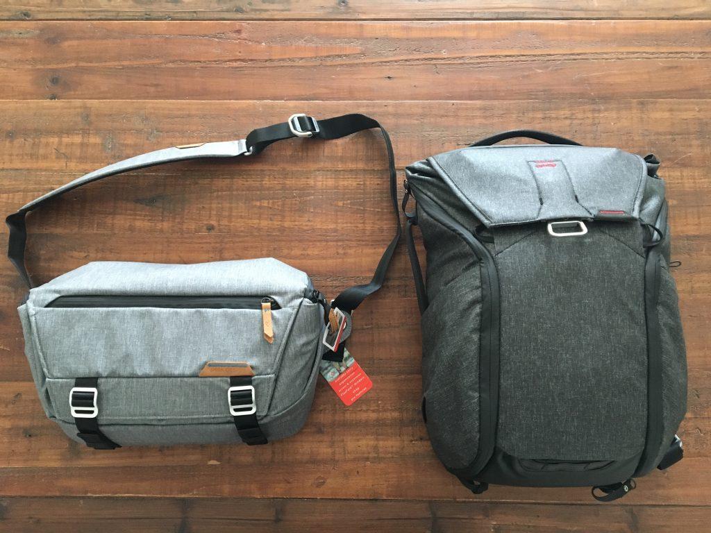 peak design sling vs peak design backpack