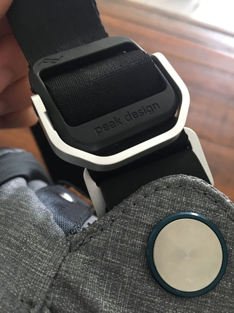 peak design sling reglage