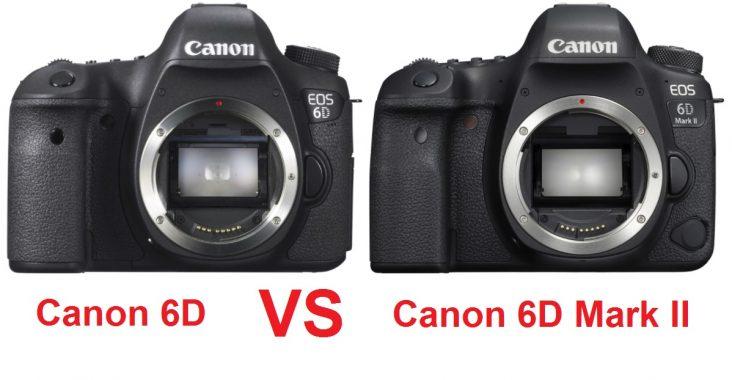 CANON 6D VS CANON 6D MARK 2