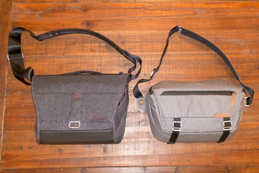peak design messenger 13 vs peak design sling