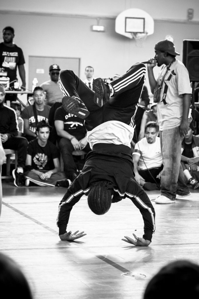 photographier le sport battle hip hop