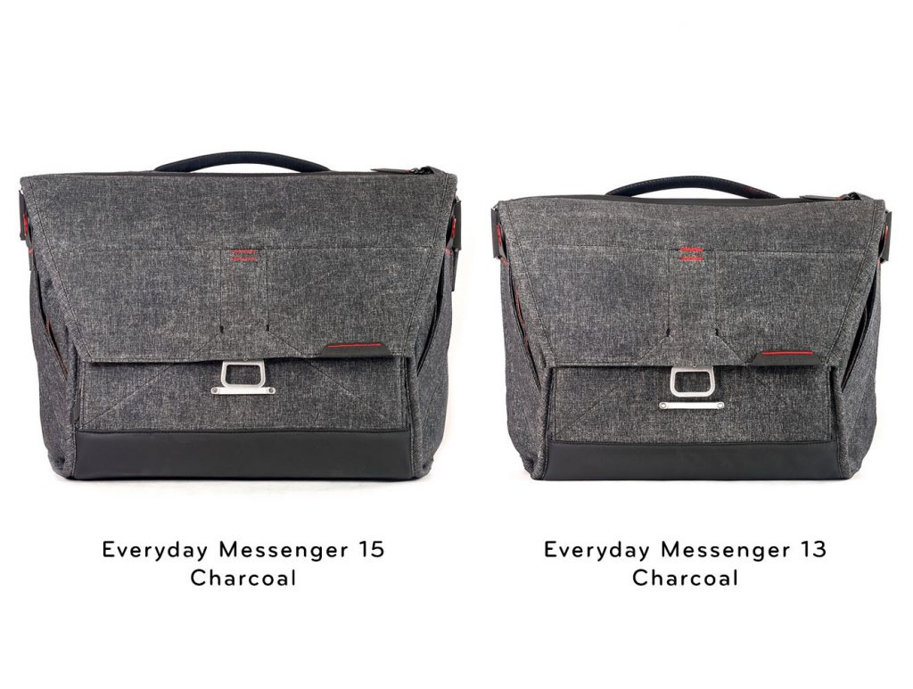 peak design messenger 15 vs peak design messenger 13