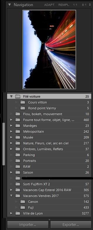 Organiser ses photos avec Lightroom