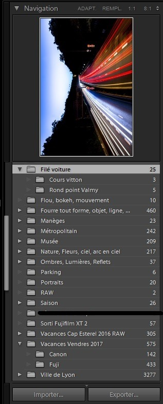Organiser ses photos avec Lightroom