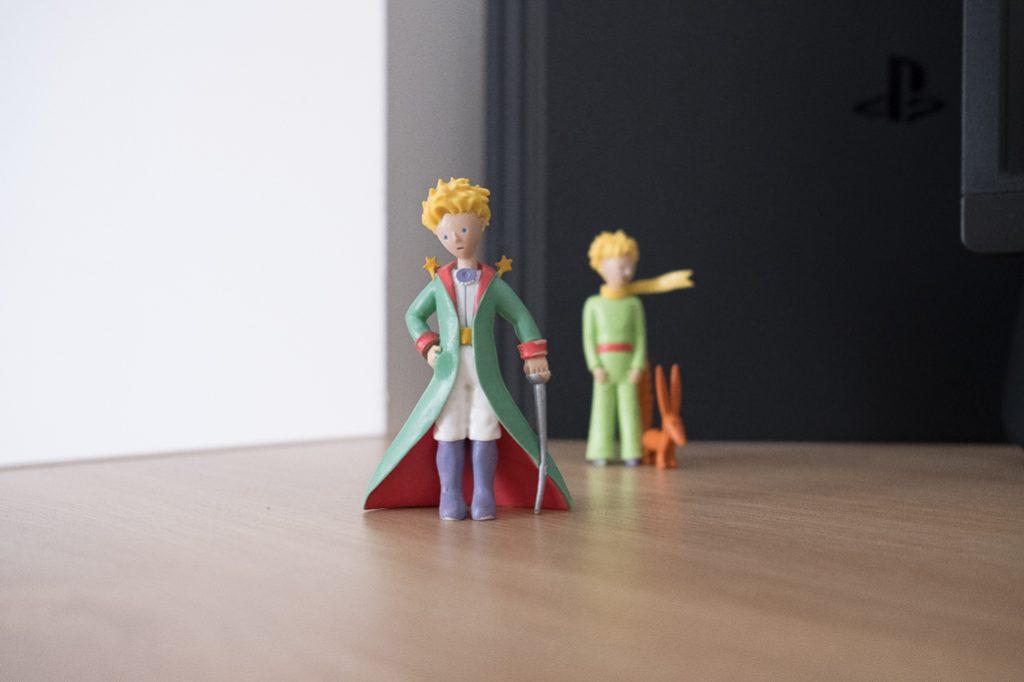 le petit prince la profondeur de champ flou