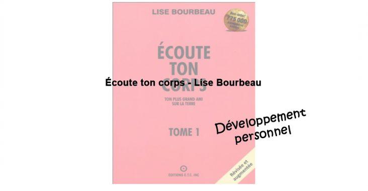 Ecoute ton corps Lise Bourbeau
