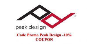 Peak Design discount code coupon off
