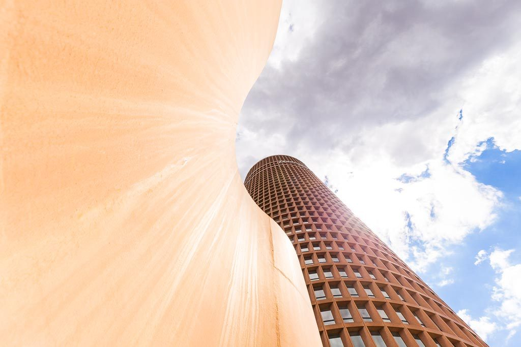 courbe composition photo