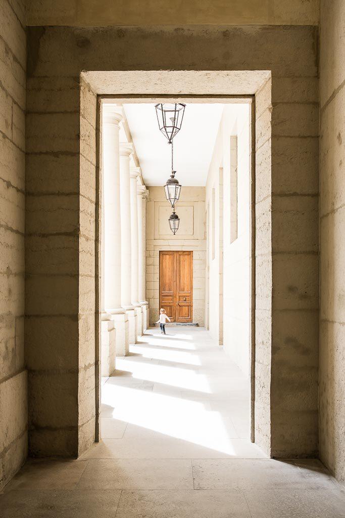 composition d'une image symétrie upright lightroom