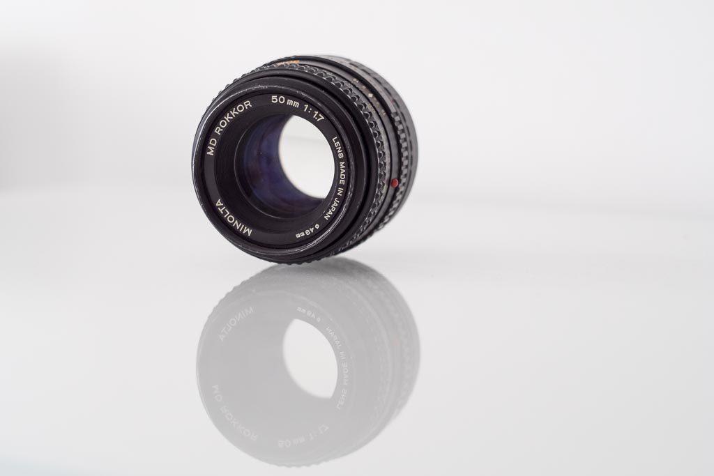avis objectif argentique Minolta 50mm F1.7