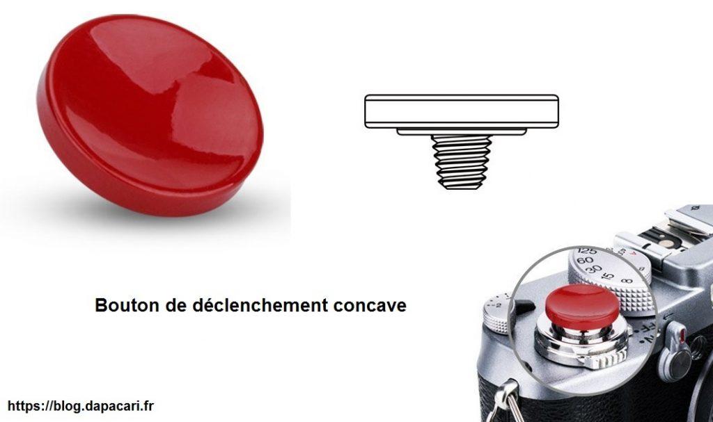 bouton de déclenchement avis concave ou convex