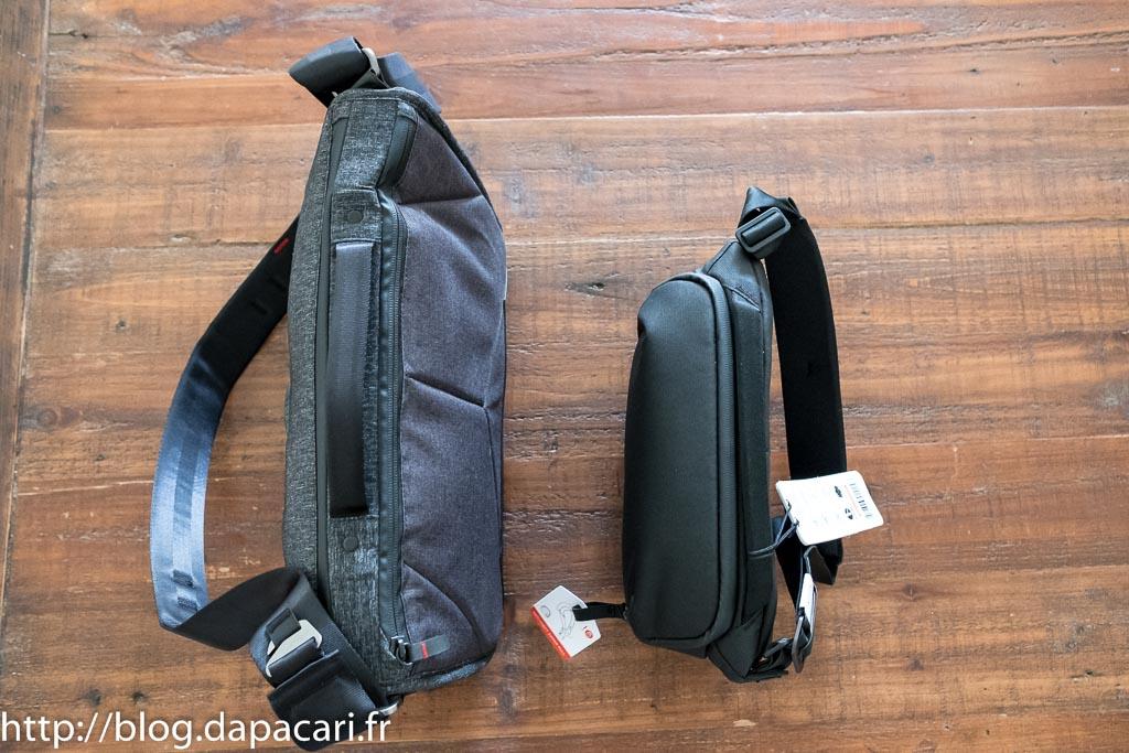 peak design messenger 13 vs peak design sling 5L