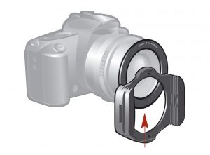adaptateur filtre carré nd
