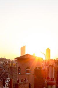 mode de mesure de lumire photographier lever de soleil