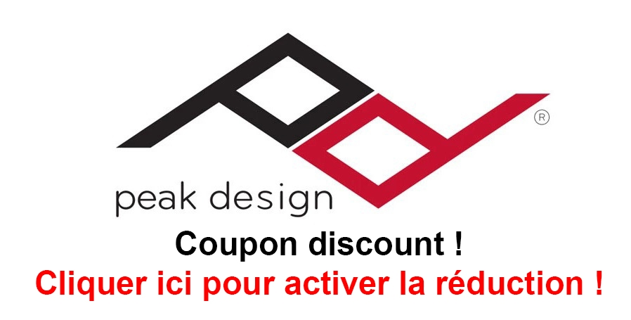 peak design code remise reduction free discount