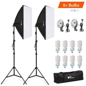 kit ampoule photo studio éclairage pas chère