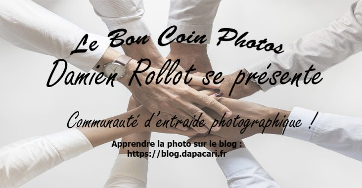 Le bon coin photos Damien Rollot se présente