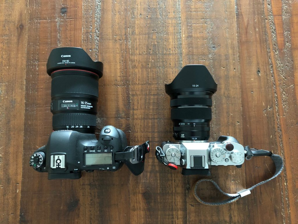 canon 6d vs fujifilm x-t3