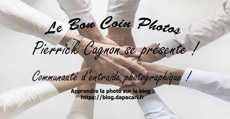 Le bon coin photos Pierrick Cagnon se présente