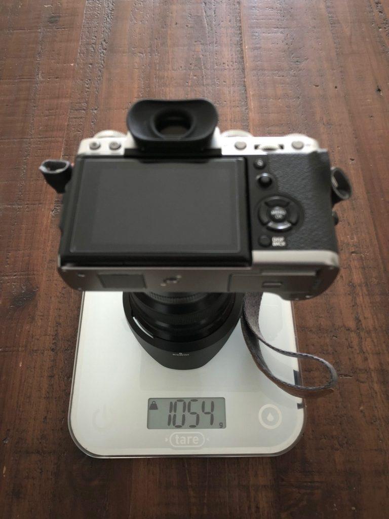 Test poids appareil photo hybride vs reflex