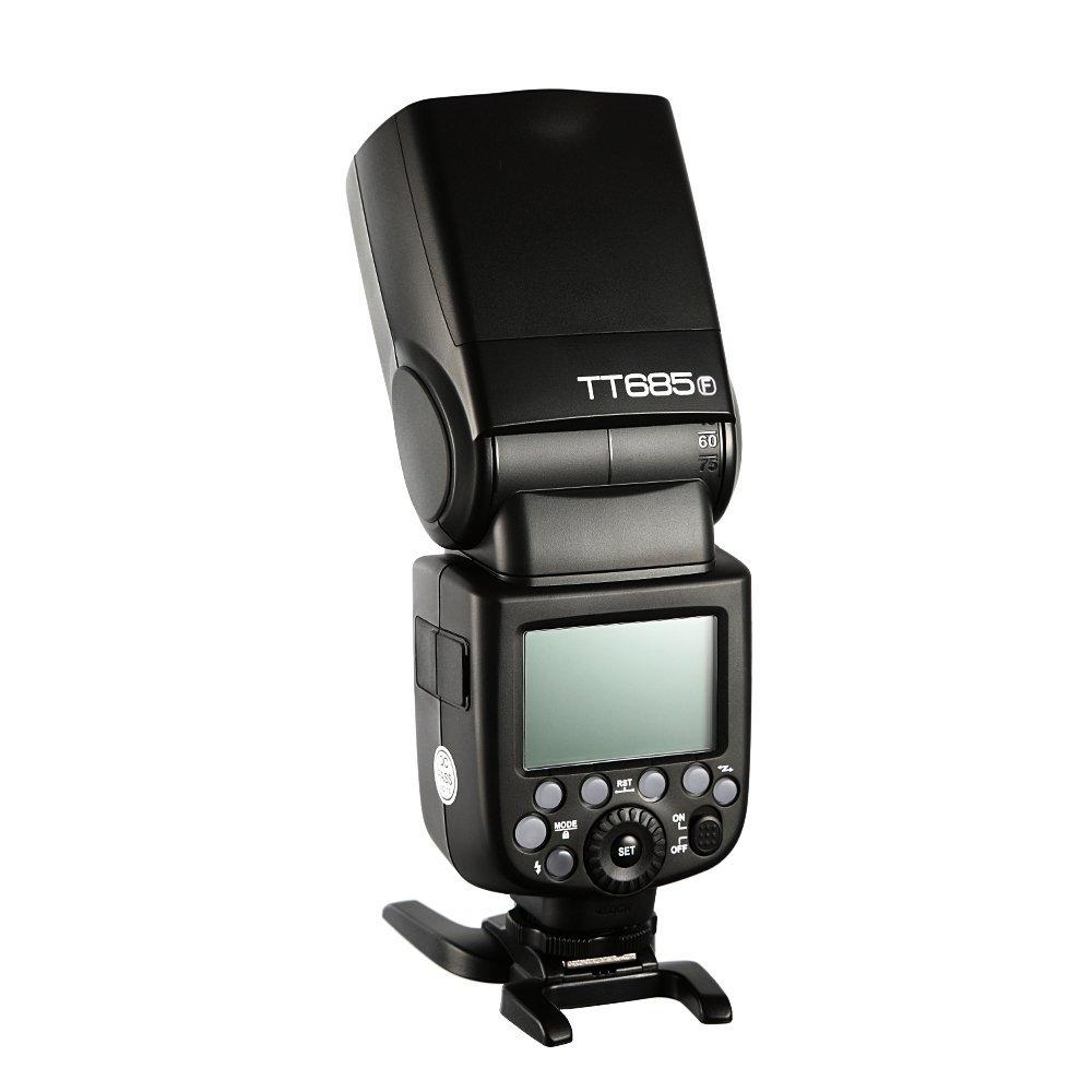 test godox tt685-f capteur Fujifilm