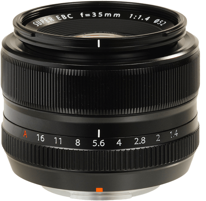 descritpion objectif 35mm f1.4