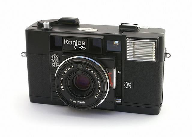 1er Appareil photo avec autofocus le kodak C35