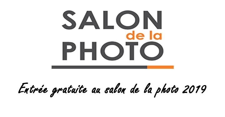 invitation gratutie salon de la photo 2019