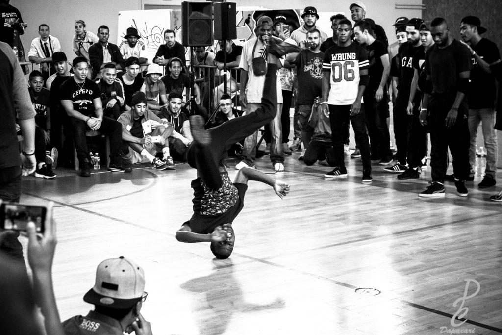 Battle Hip Hop Lyon Bron 2015 choix d'une focale