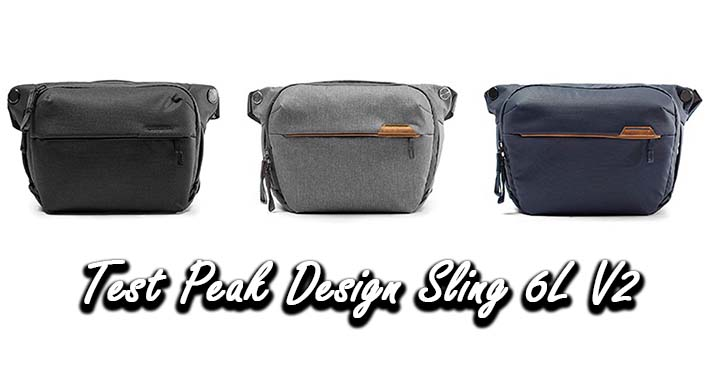 Test Peak Design Sling 6L V2