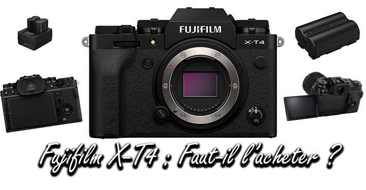 acheter le Fujifilm X-T4 avis