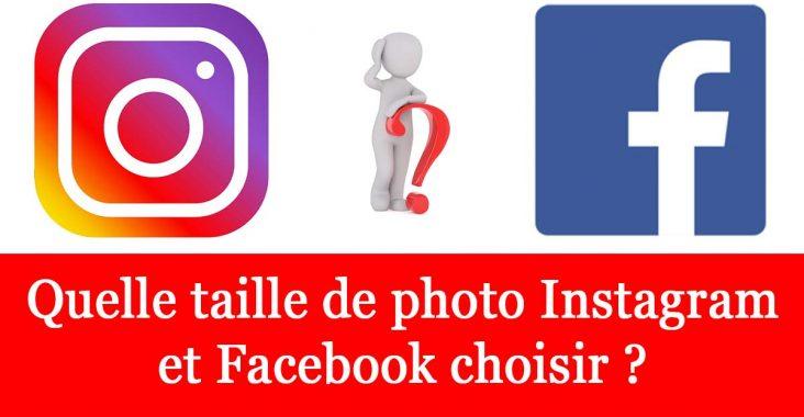 optimiser photo instagram et facebook