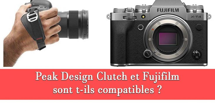 Peak Design Clutch et Fujifilm