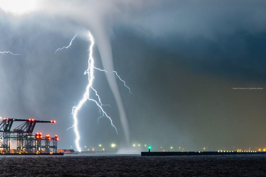 photographier orage la nuit