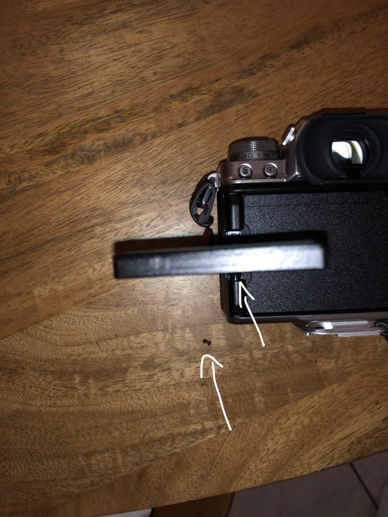 petit bout de plastique Fujifilm X-T4