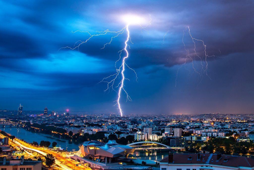 photographier orage à Lyon