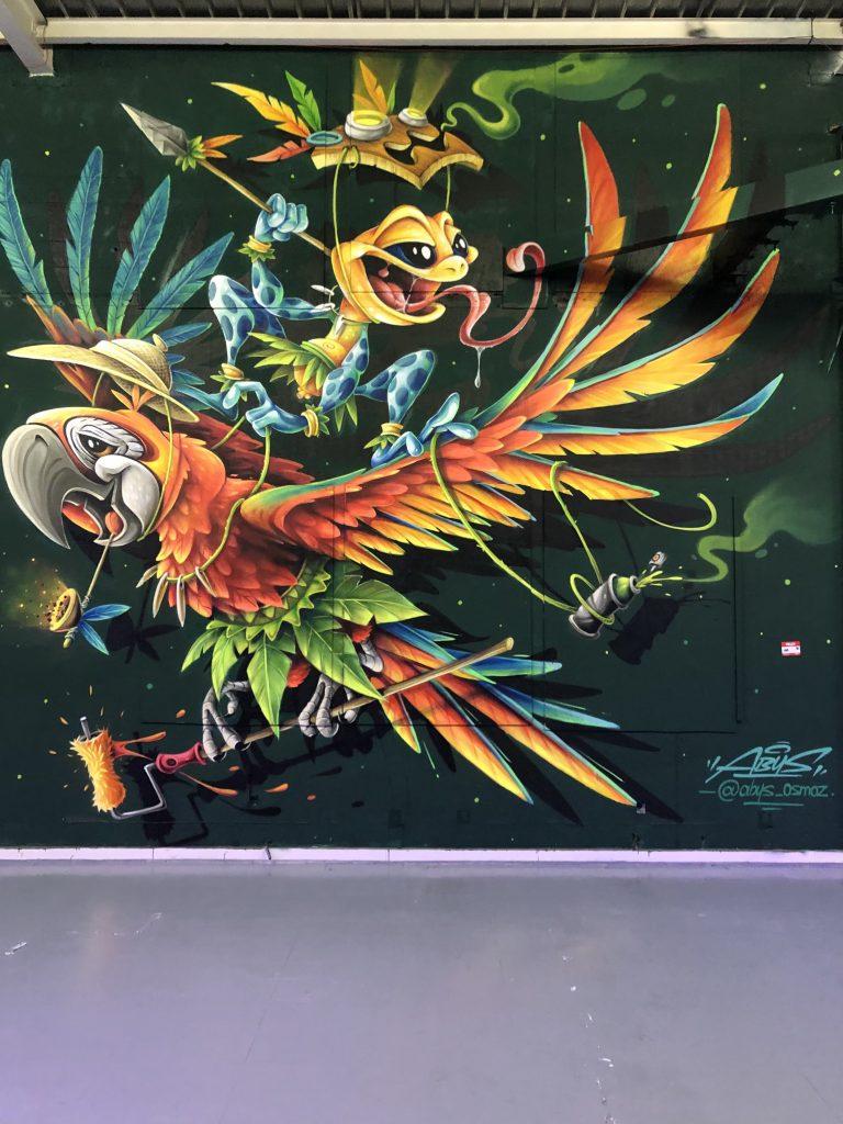 les murs peint au zoo art show xxl
