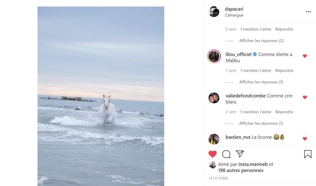 exemple de partage de titre sur instagram