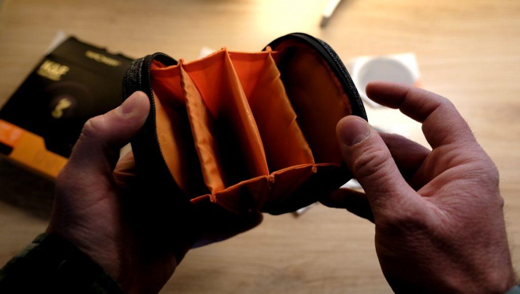 housse de rangement K&F Concept pour filtre magnétique