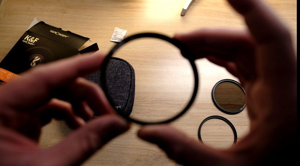 Test filtre de protection UV magnétique K&F Concept